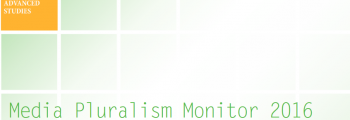 Media Pluralism Monitor 2016 / Monitoring Risks for Media Pluralism in the EU and Beyond